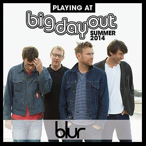 Blur Pulls Out Of Big Day Out 2014