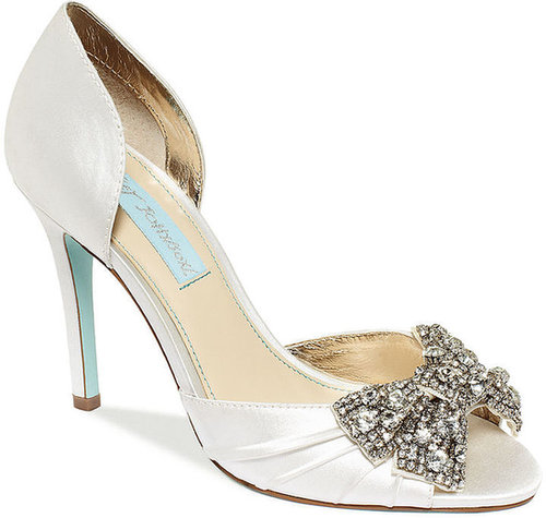 Blue by Betsey Johnson Gown Evening Pumps