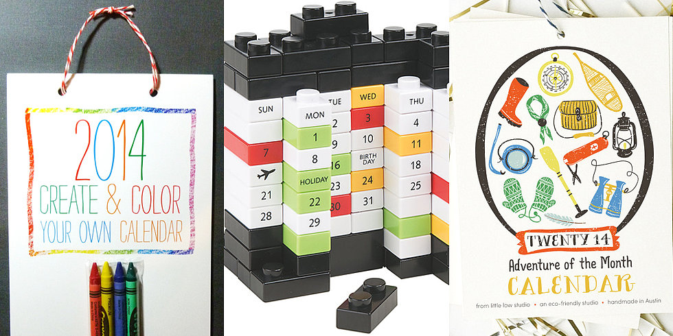 10 Kid-Friendly Calendars For 2014