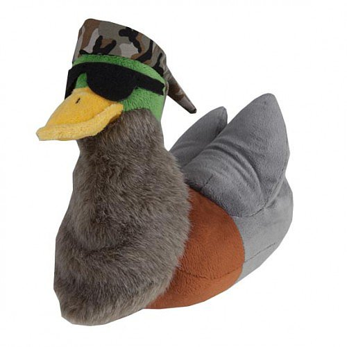 Duck Dynasty Bearded Duck Plushie ($25)