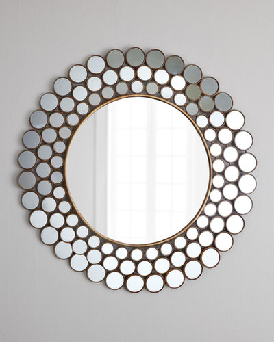 "I may be slightly vain, but I love me a good mirror, and I know a few people who are on the same page. The ""Mirrored Circles"" Accent Mirror ($150) is both gorgeous and functional for a bedroom or entryway.  — Maggie Pehanick, assistant editor"