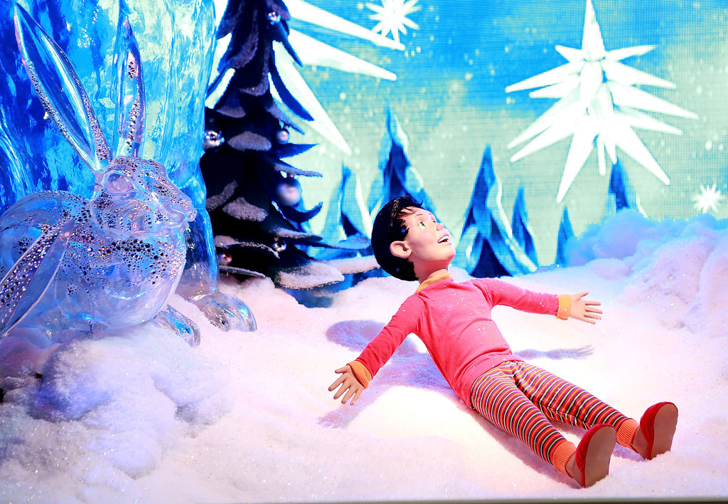 In New York City, the Macy's Herald Square Christmas windows were unveiled.