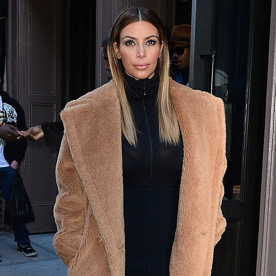 Kim Kardashian Coat For Less