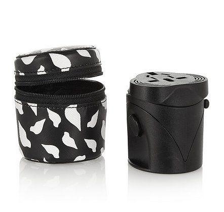 There's nothing better to give the girl on the go than this Diane von Furstenberg textured faux-leather case and travel adapter ($95). — Kim Timlick, director of POPSUGAR international