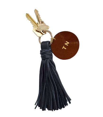 Never lose your keys again! Claire Vivier's monogrammed tassel key chain ($40) makes a great gift for that forgetful lady in your life.  — Lauren Turner, celebrity and features editor