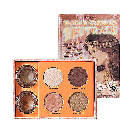 Neutrals don't have to be boring, as proven by Benefit's World Famous Neutrals ($30). With a mix of matte shades, shimmering hues, and sumptuous cream colors, she'll have a whole range of makeup options at her fingertips.