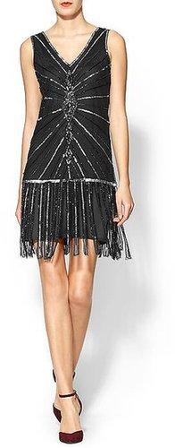 Sabine Ginger Art Deco Dress