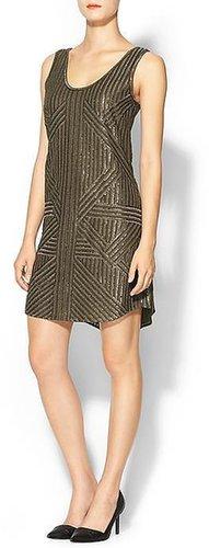 Rachel Zoe Tilly Silk Sequin Tank Dress