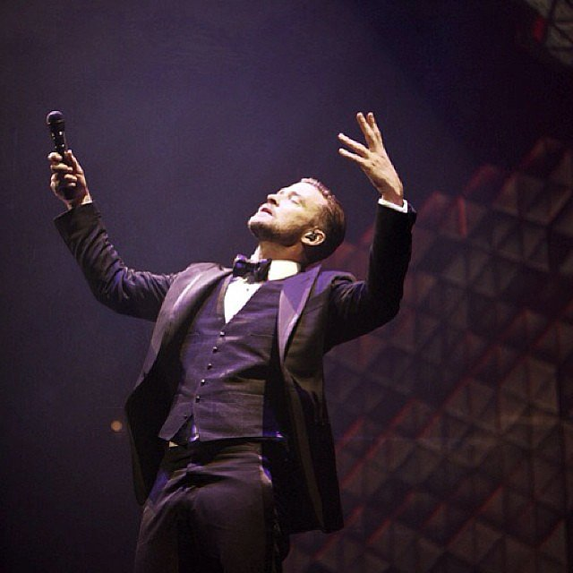 Justin Timberlake sang and danced his way through a Tulsa, OK, tour stop. Source: Instagram user justintimberlake