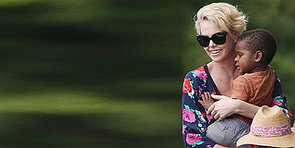 Charlize Theron Dotes On Her Son Jackson at Lunch in Sydney