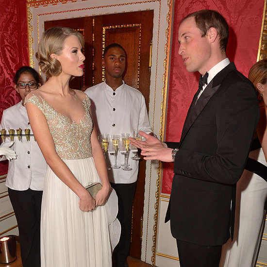 Taylor Swift Meeting Prince William in London