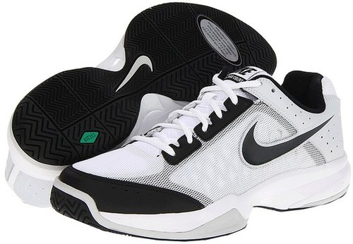Nike - Air Cage Court (White/Black/Pure Platinum/Anthracite) - Footwear