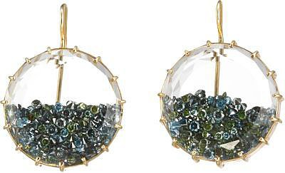 Renee Lewis Blue Diamond 'Shake' Earrings