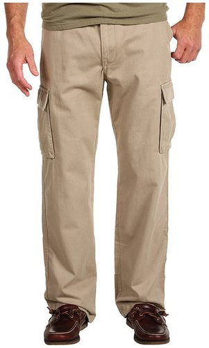Nautica - Twill Cargo Pant (True Khaki) - Apparel