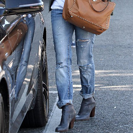 Celebrities in Boyfriend Jeans