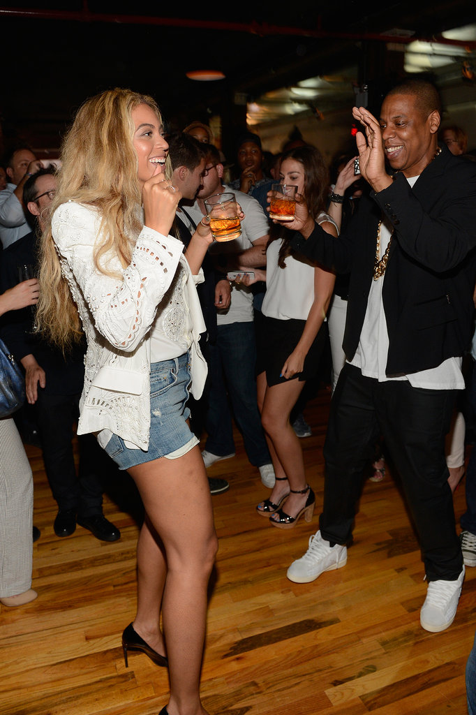 In July 2013, the couple cut a rug at Jay Z's record release party in NYC.