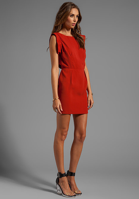 If you like this Line & Dot Dress ($126) now, wait till you see the back.
