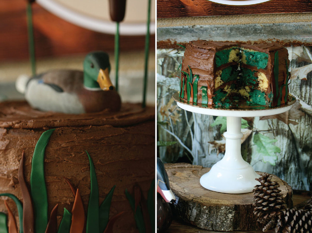 Duck Hunting Cake Decorating Kit : Duck Hunt Cake Happy Hunting! A Duck Dynasty-Inspired ...