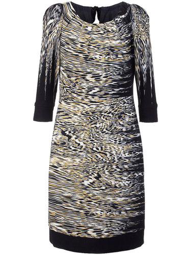 Peter Hahn - Jersey dress with 3/4-length sleeves - multicoloured