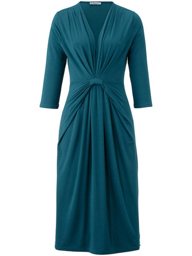Uta Raasch - Jersey dress with 3/4-length sleeves - teal