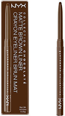 Nyx Cosmetics Collection Chocolate Matte Brown Eyeliner