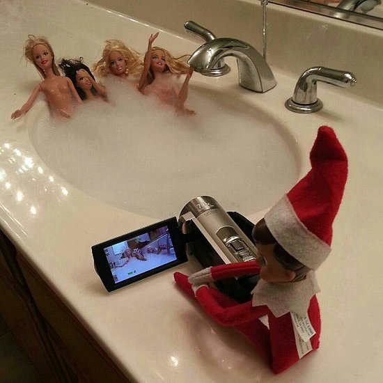 Naughty Elf on the Shelf Pictures