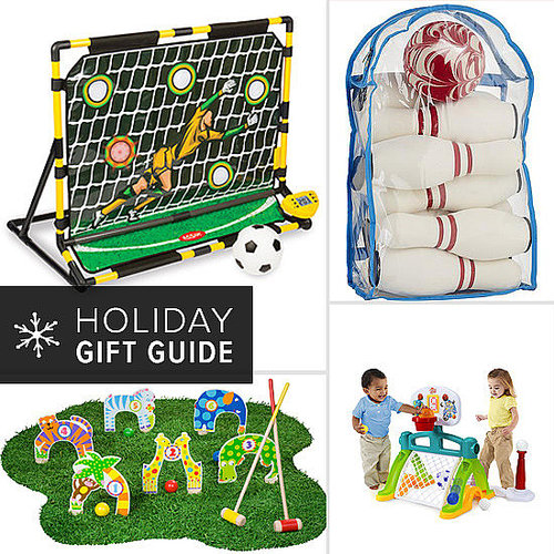 Got a little one who can't stay away from the field, rink, court, or greens? Be glad! His or her novice athletic skills are a great way to learn about the values of teamwork and fair play, make lifelong friends, and stay fit. Reward your athletic tot (or sideline-sitting baby) this holiday with one of these spectacularly sporty gifts!