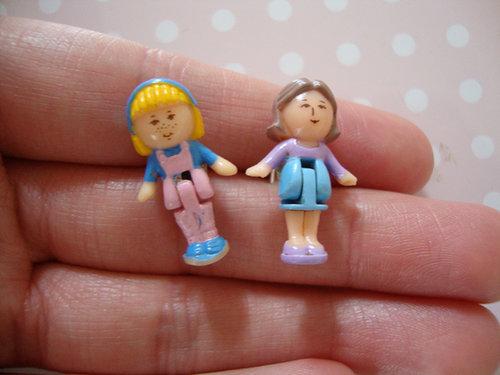 Polly Pocket Stud Earrings