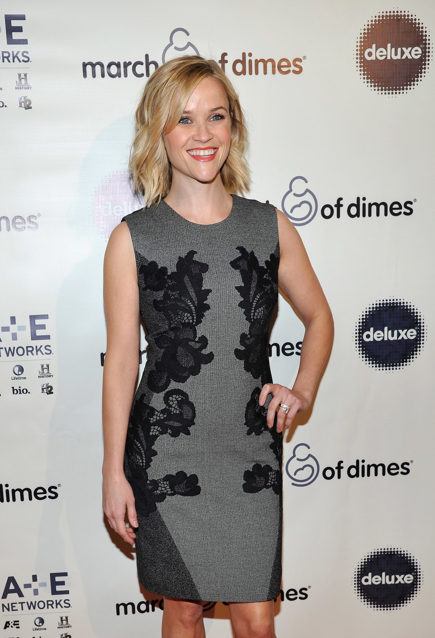 Reese Witherspoon was all smiles at the event.