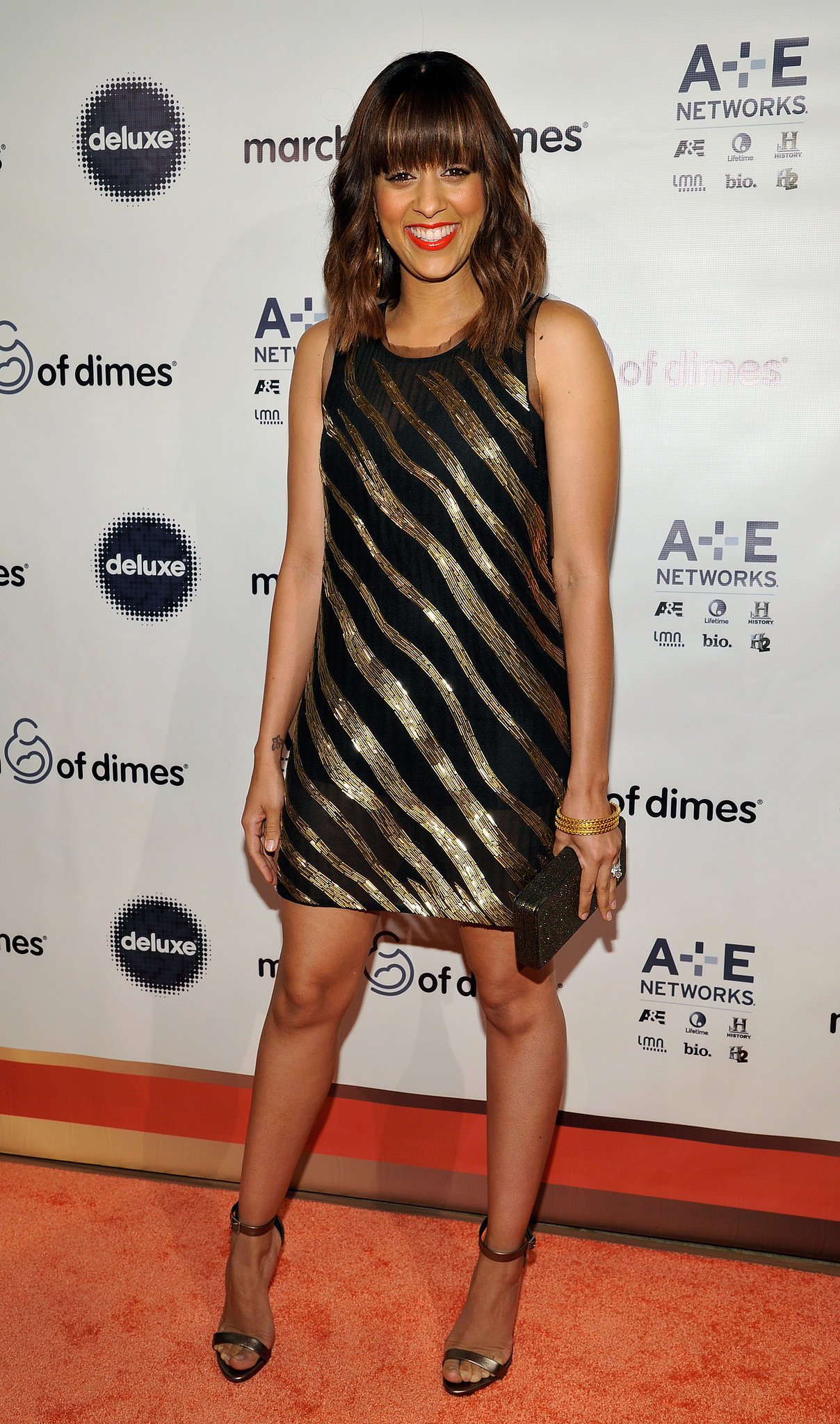 Tia Mowry walked the red carpet at the event.