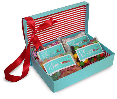 I've been obsessed with giving (and getting!) Sugarwish assortments ($25-$65) since I learned about them last year. I have a notorious sweet tooth, and I simply love that the recipient is able to pick her own goodies, so you don't have to guess anyone's favorite candy. — Molly Goodson, VP of content