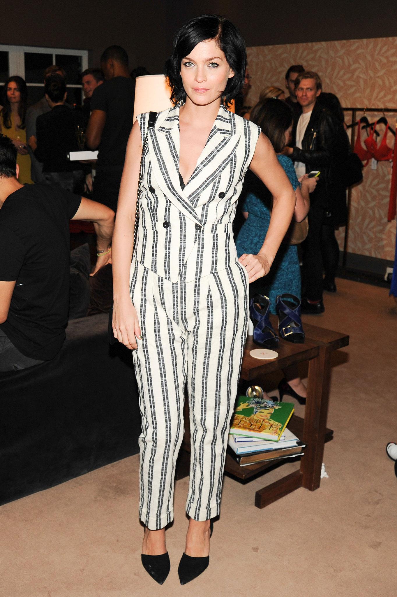 Leigh Lezark at Calvin Klein's The Webster Miami party.