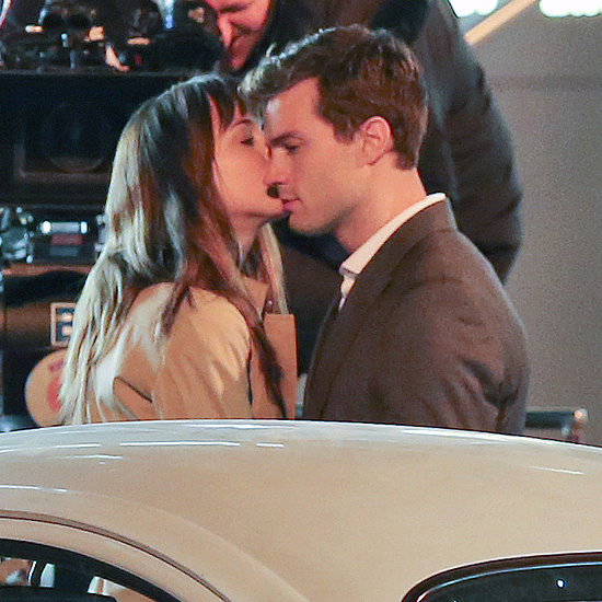 Dakota Johnson Kissing Jamie Dornan in Fifty Shades of Grey