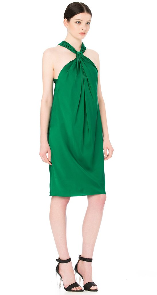 I do love a bit of colour during the festive season, and I still haven't tired of emerald green since it hit the runway a couple of seasons ago. This dress looks as flattering as it does comfortable — a necessity for a long day and night of celebrating in the sun. — Marisa, publisher Dress, $600, Scanlan Theodore