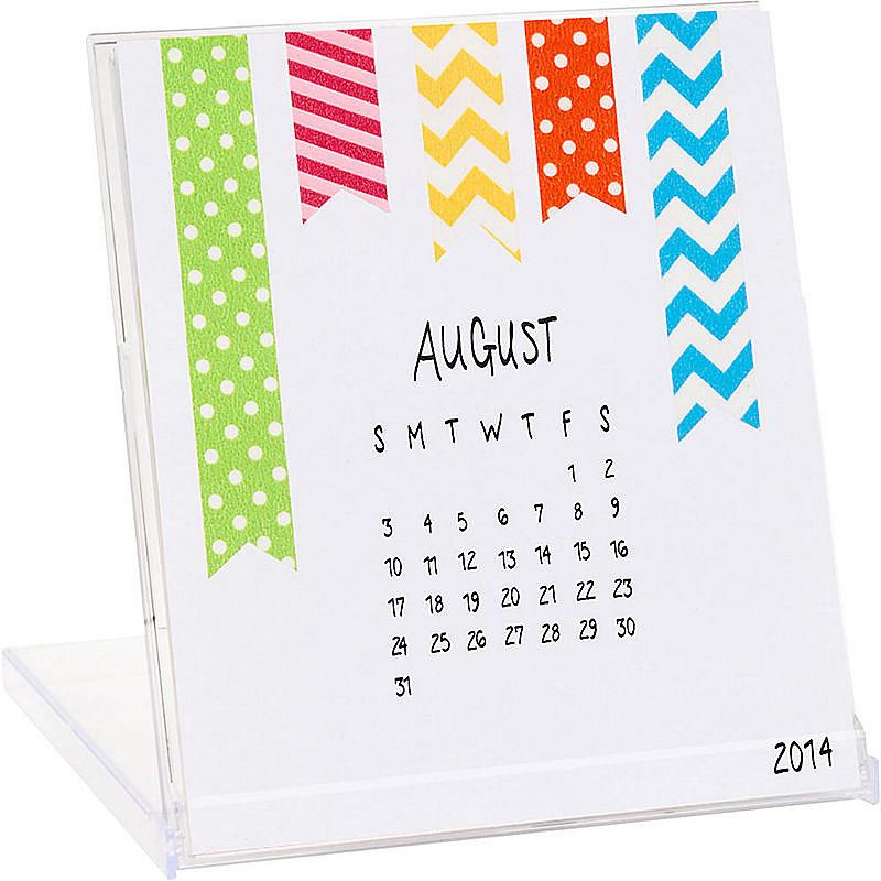 Diy Calendar Australia : If she likes to get creative this diy calendar
