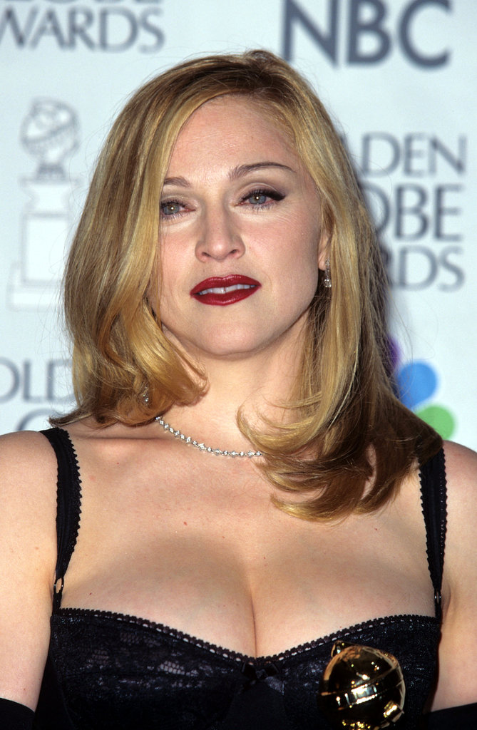 madonna 1997 the most gorgeous beauty looks from golden globes past