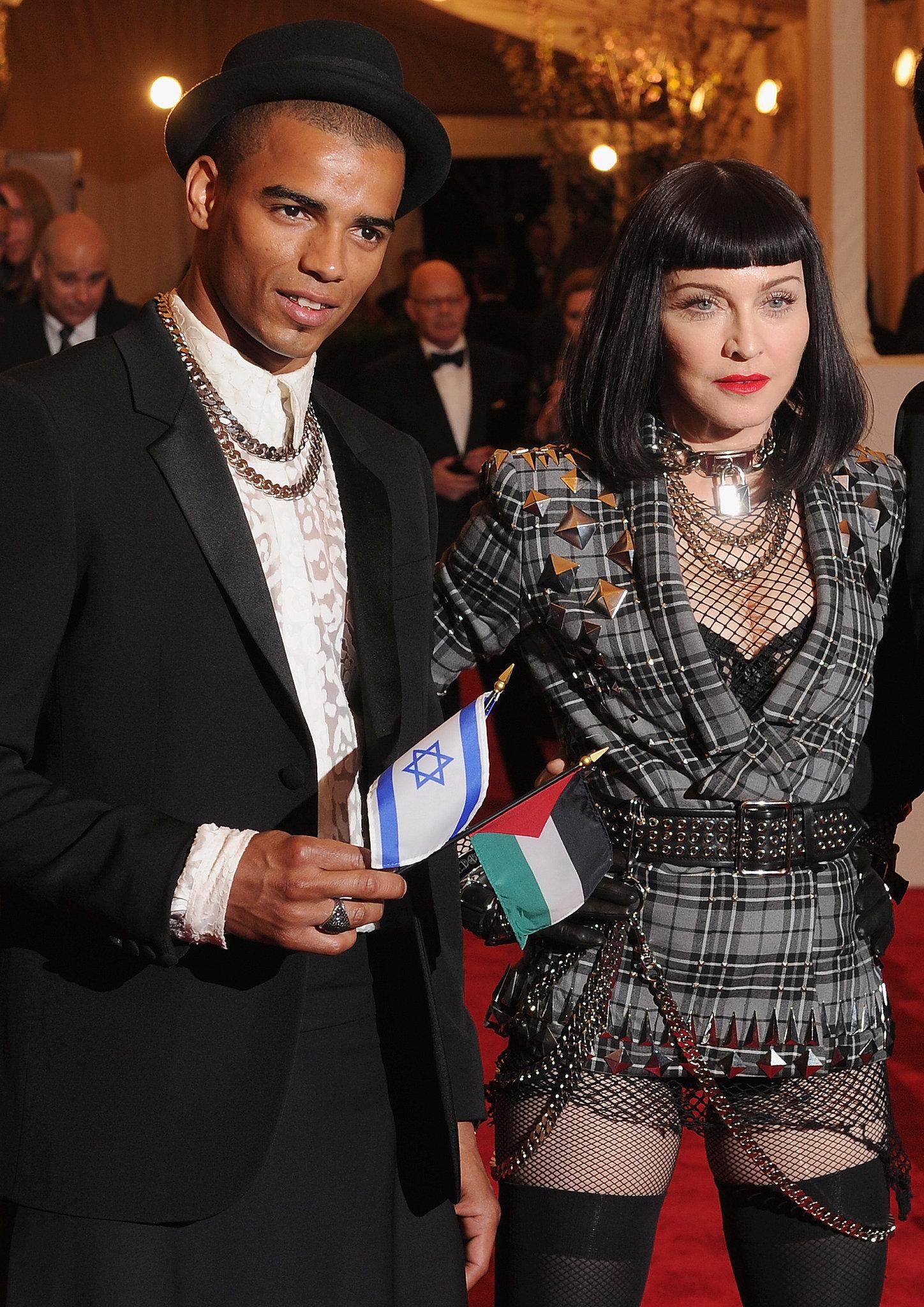 Madonna and Brahim Zaibat