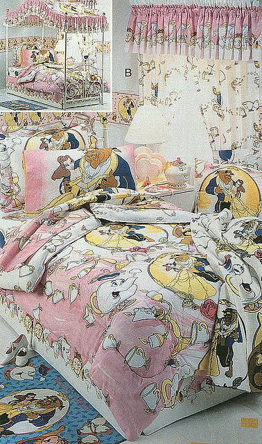 Beauty and the Beast Bedding