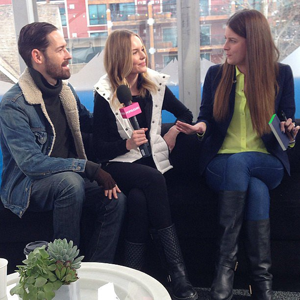 We got to sit down with Kate Bosworth and Michael Polish . . . at the same time!
