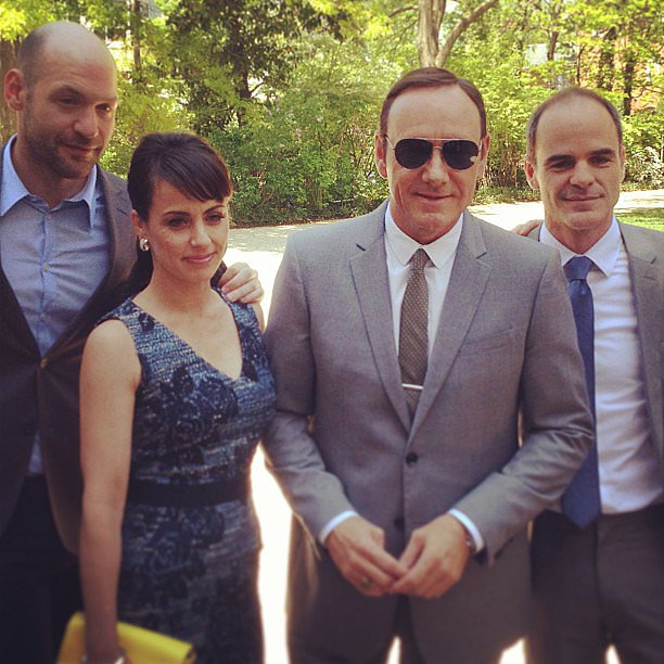 It was such a pleasure to see Kevin Spacey and the cast of House of Cards at the White House Correspondents' Dinner!