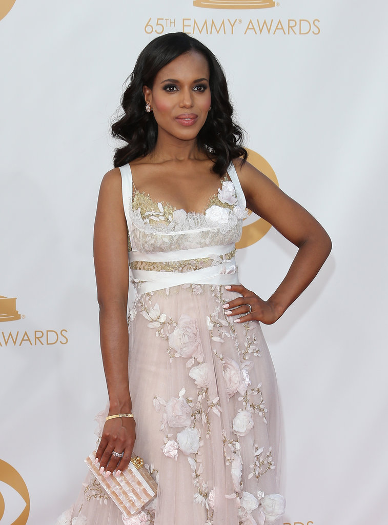 When Kerry was nominated for outstanding lead actress in a drama at the 2013 Emmys, she made history. Though she didn't win for Scandal in September, she was the fifth African-American actress ever nominated.