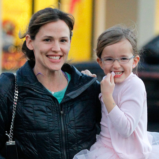 Jennifer Garner and Seraphina After Ballet Class | Pictures