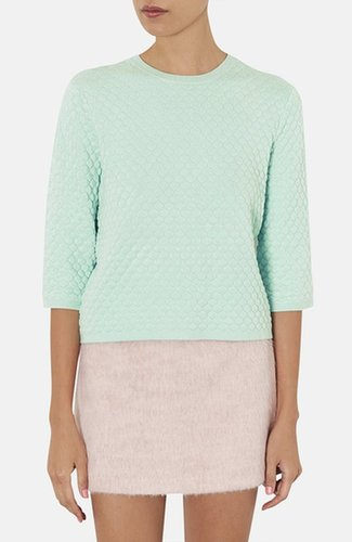 Topshop Hexagon Quilted Top