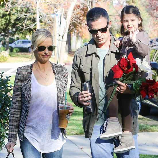 Freddie Prinze Jr. and Sarah Michelle Gellar Out in LA