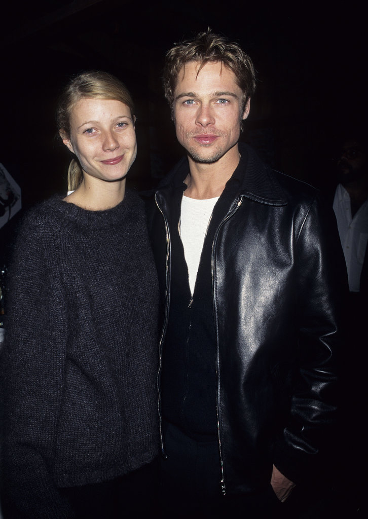 brad pitt and his thengirlfriend gwyneth paltrow matched