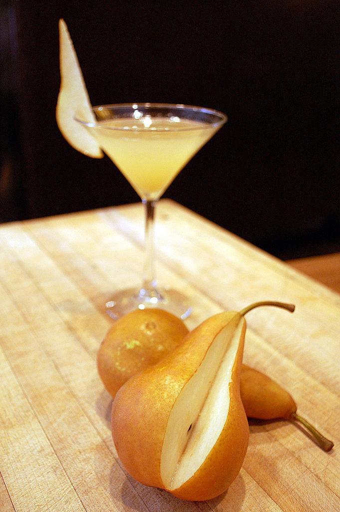 Pear Ginger Rum Runner Cocktail