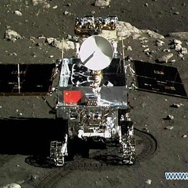 China Lands Rover on Moon Video