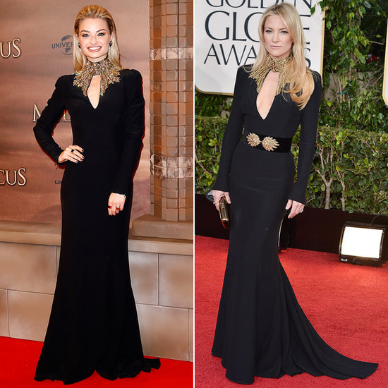 Emma Rigby and Kate Hudson Wear the Same McQueen Dress