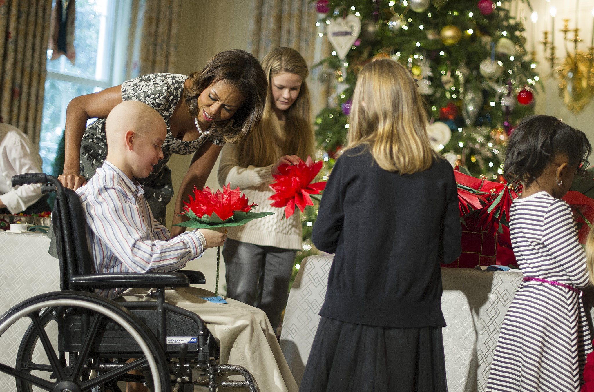 The First Lady Also Hosted a Sweet Day With Little Ones