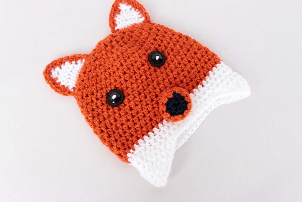 Crochet Fox Hat : WadaWada Crochet Fox Hat 10 Adorable Animal Hats For Keeping Little ...